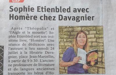 Article du Dauphiné le 23 juillet 2021