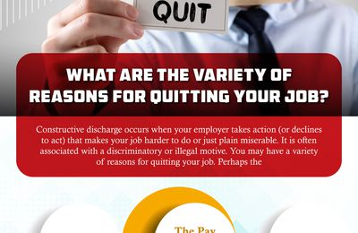 What Are The Variety of Reasons For Quitting Your Job?