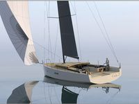 Image et conception : Marc Lombard Yacht Design Group