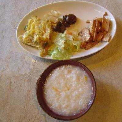 粥 / 稀飯 le petit déjeuner chinois