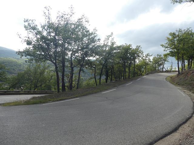 A vélo vers St Martin de Castillon