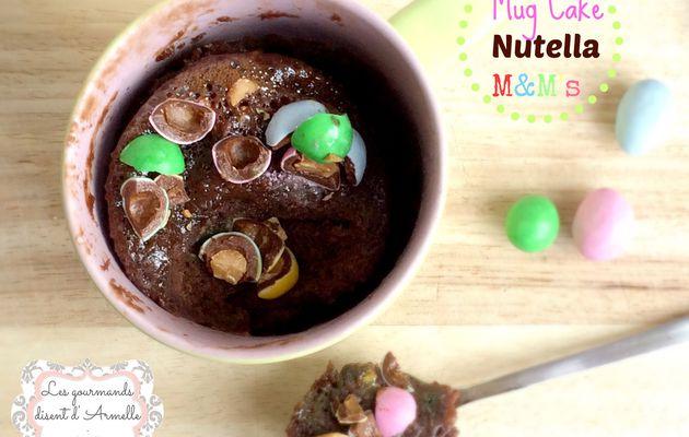 Mug Cake Nutella et M&M's