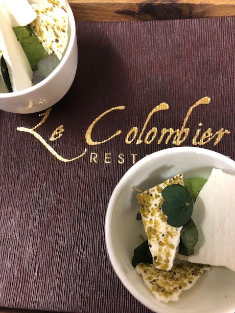 Restaurant Le Colombier Offranville menu du 24 décembre 2020