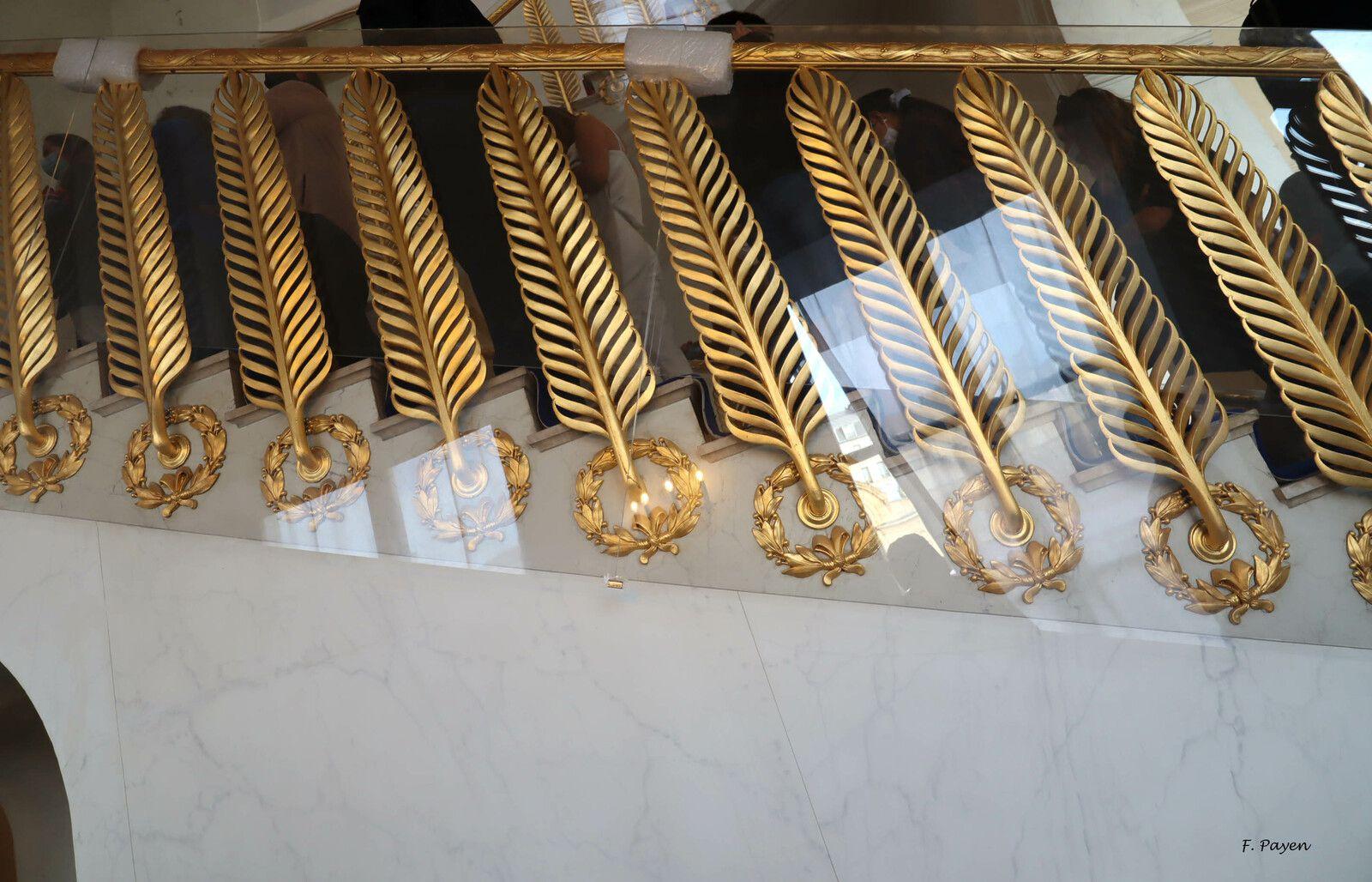 Palais de l'Elysée, escalier Murat.