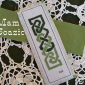 "Marque-pages Celte, "" Eire green & Family "". - Chez Mamigoz"
