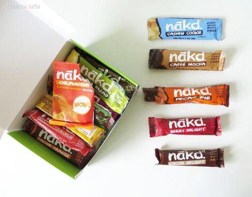 Petit (Gros) Test des Snacks Nakd
