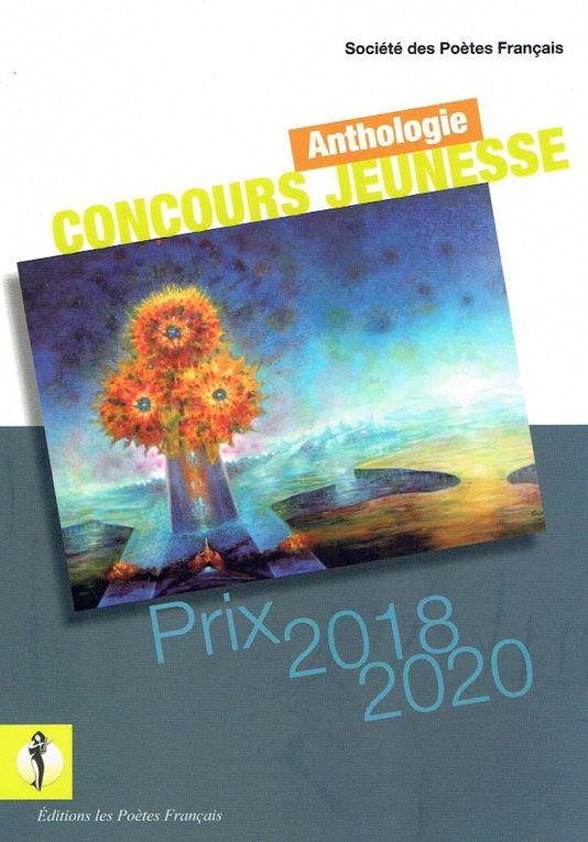 Savatore Gucciardo illustre l'Anthologie Jeunesse 2018-2020  éditée par la Société des Poètes Français.