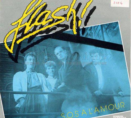 flash, un groupe de rock français dont la voix n'est pas sans évoquer le groupe gold le succès ne sera pas au rendez-vous