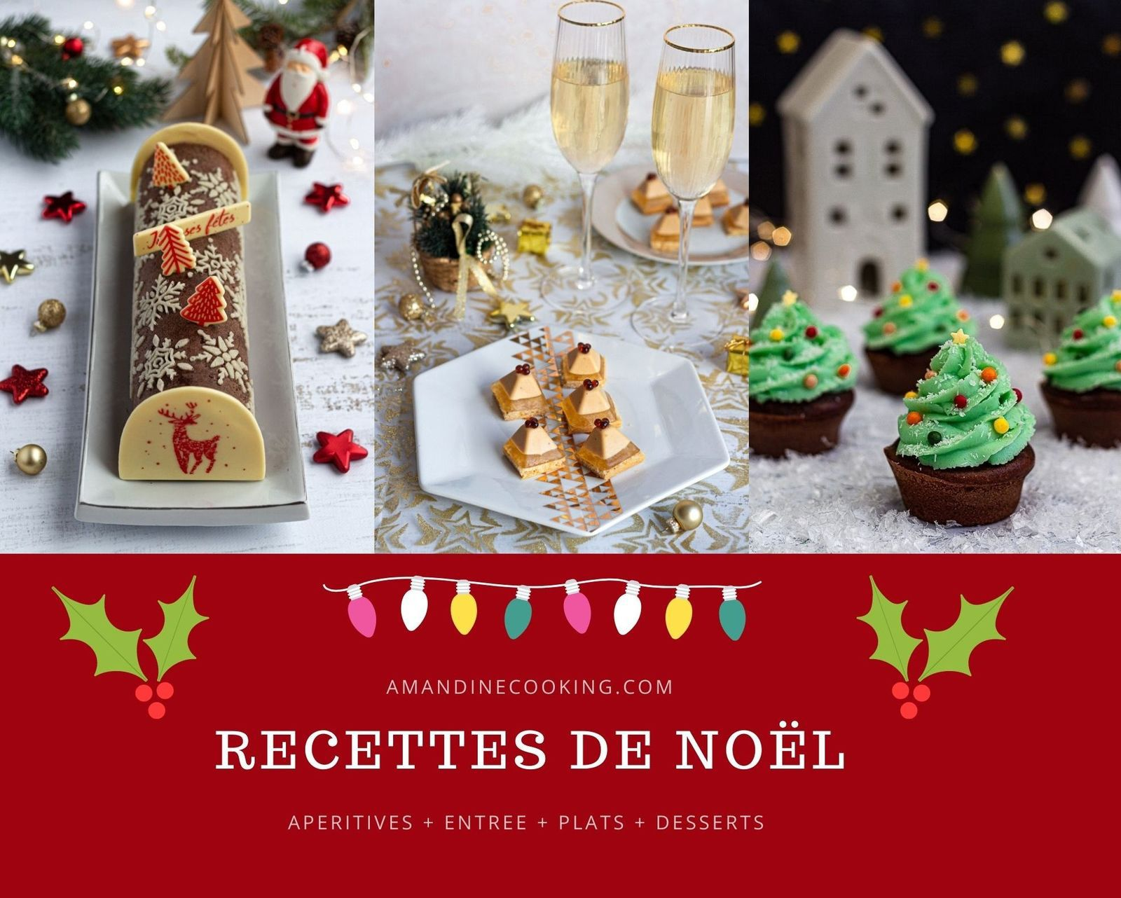 Menu De Noel Idees Recettes Salees Et Sucrees Amandine Cooking