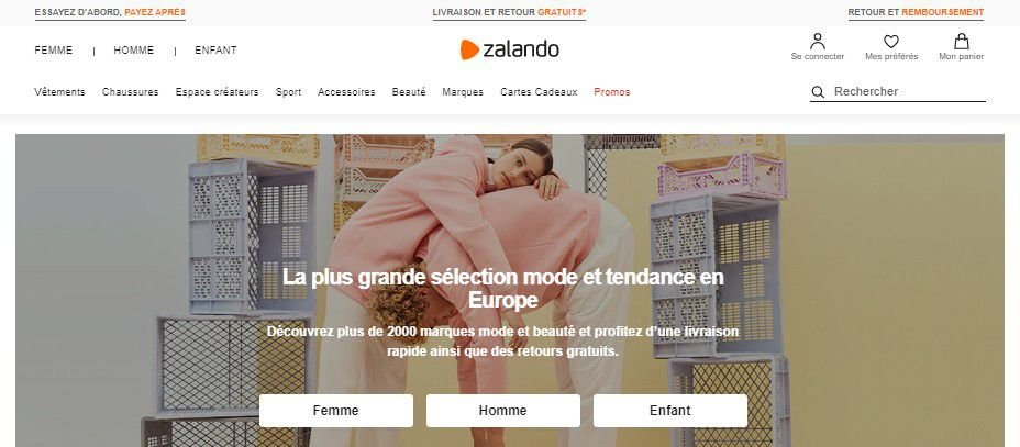 E-commerce : Zalando propose de l'occasion à son tour !
