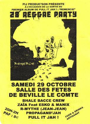 Tous les flyers du mois d'octobre 2005<br/>