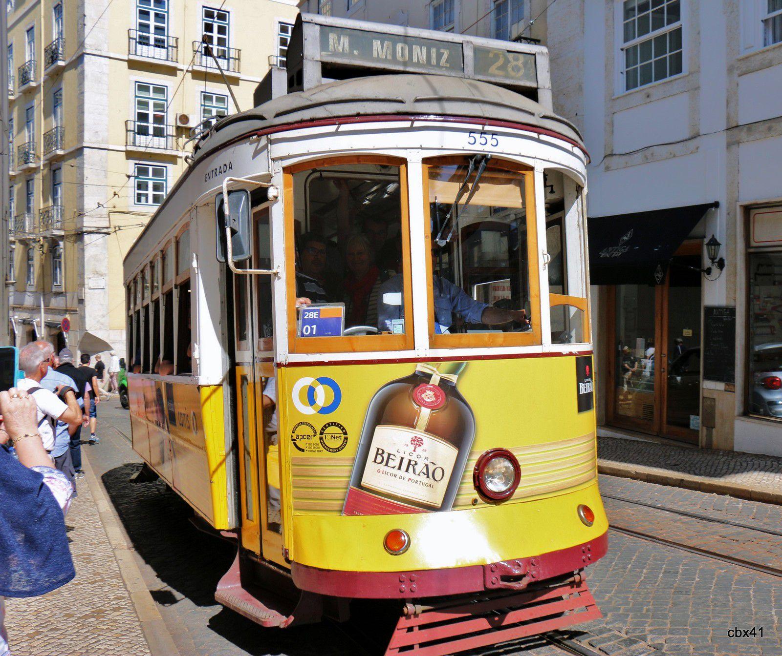 Les Tramways de Lisbonne (Portugal)
