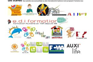 1er Salon International de l'Autisme - Paris - 2-3 avril 2016