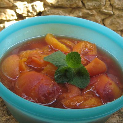Marmelade duo abricots-nectarines à la cannelle