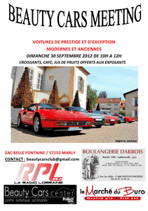 Marly : Beauty Cars Meeting le 30 septembre 2012