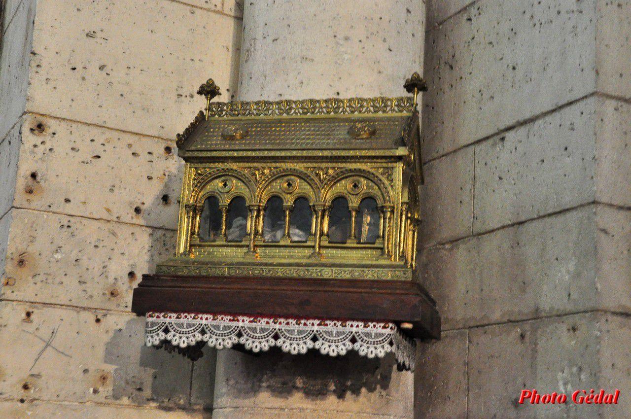 Reliques de Saint Sicare déposées par Charlemagne.