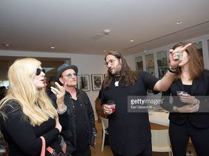 Bono et The Edge Leica Gallery, West Hollywood, Los Angeles 08/09/2016