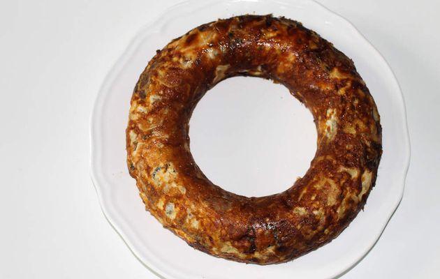 Gâteau de pommes de terre au Roquefort