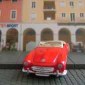 MERCEDES 190 SL 1955 CABRIOLET WELLY 1/60 - car-collector.net