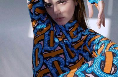 BURBERRY TB SUMMER MONOGRAM CAMPAIGN, STARRING KENDALL JENNER