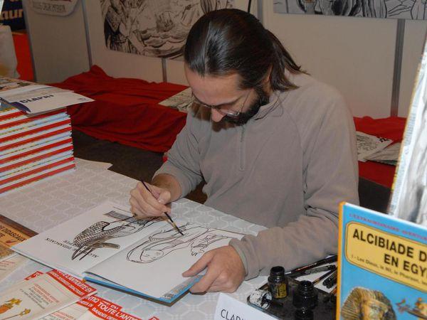 A l'Envolée des Livres 2015 : Clapat et Scardanelli