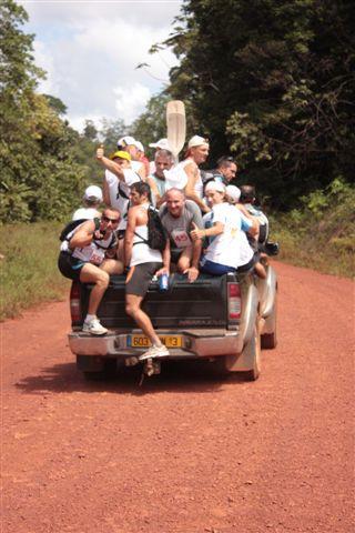 Organisé par l'auberge des orpailleurs le 21 novembre 2009, le triathlon vert consistait à parcourir 5,5km de kayak, 6,(km de course à pied et 22,5km en VTT, tout ça par équipe de 2...