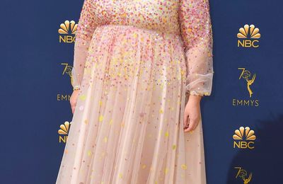 Broderies vedettes...aux Emmy Awards
