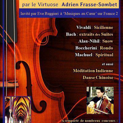 Violoncelle à l'église Saint-Eugène-Sainte-Cécile Paris 9e