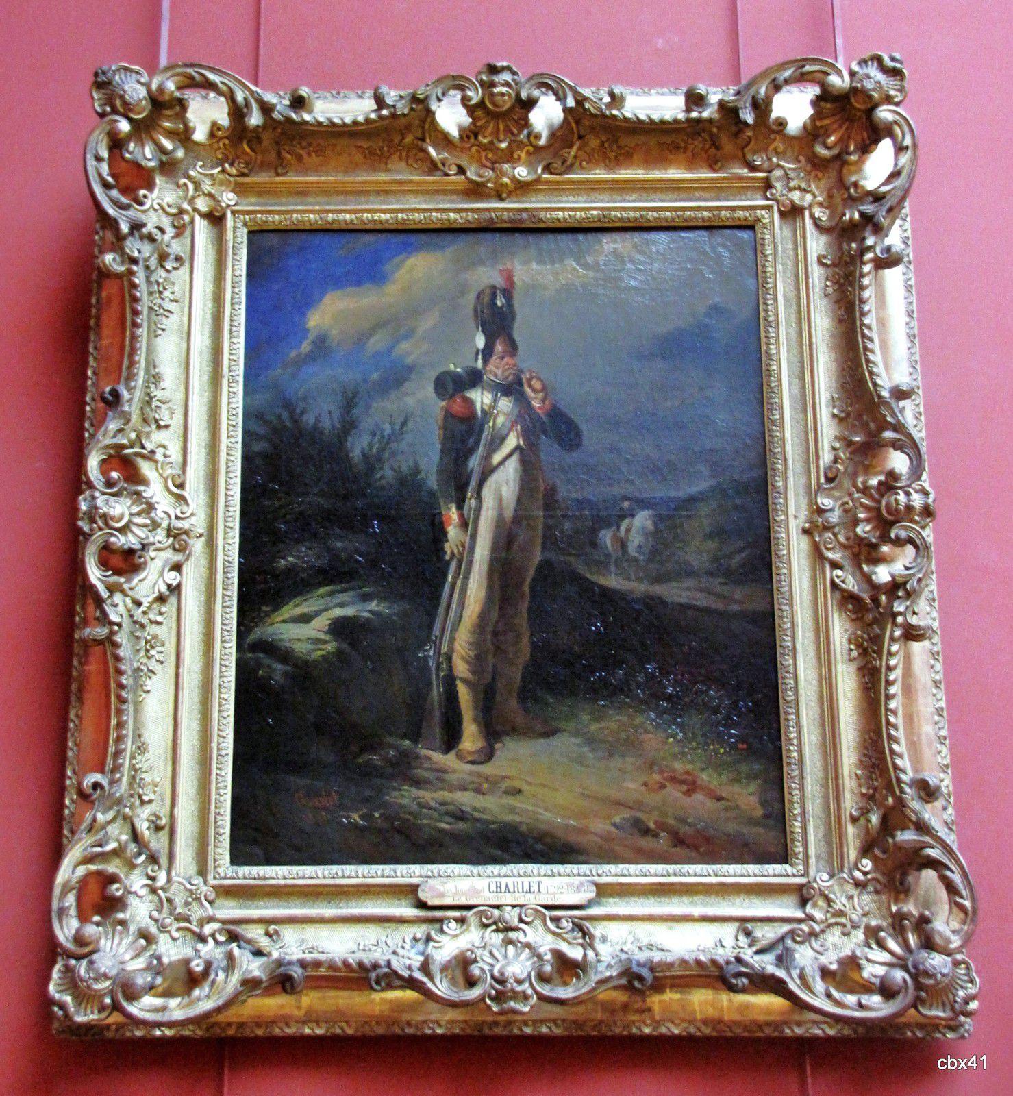 Nicolas Toussaint Charlet, Grenadier de la Garde
