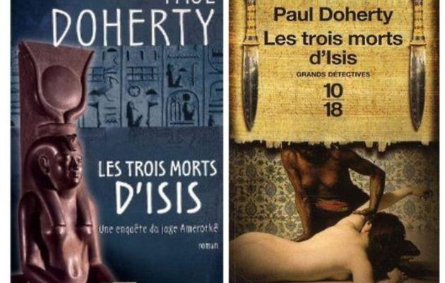 Les trois morts d'Isis, de Paul Doherty