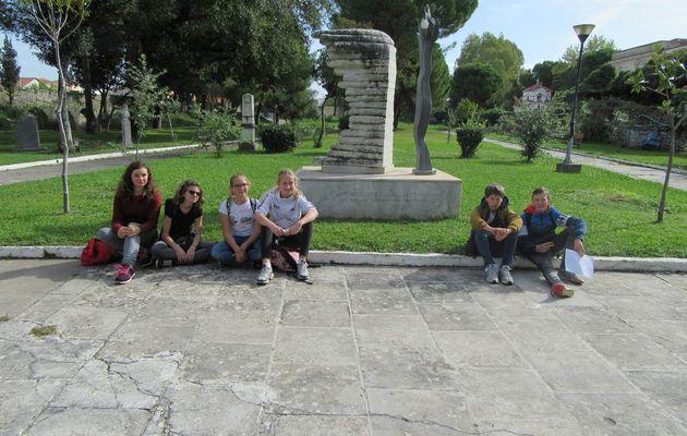 SMGR19 Messolongui- Visite du jardin des héros et Tourlida