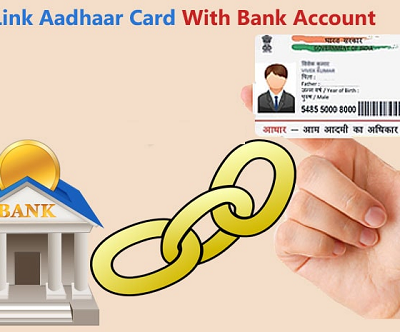 How To Link Aadhaar Card With Bank Account | Online