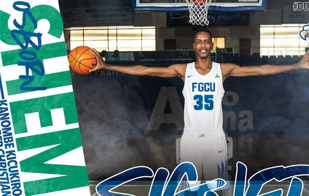 NCAA : Osborn Shema rejoint Les Eagles de Florida Gulf Coast University