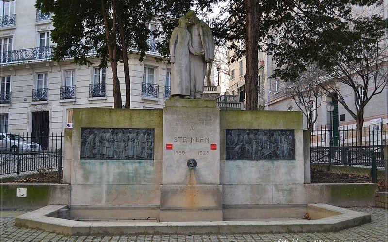Monument à la mémoire de Théophile-Alexandre  Steinlen