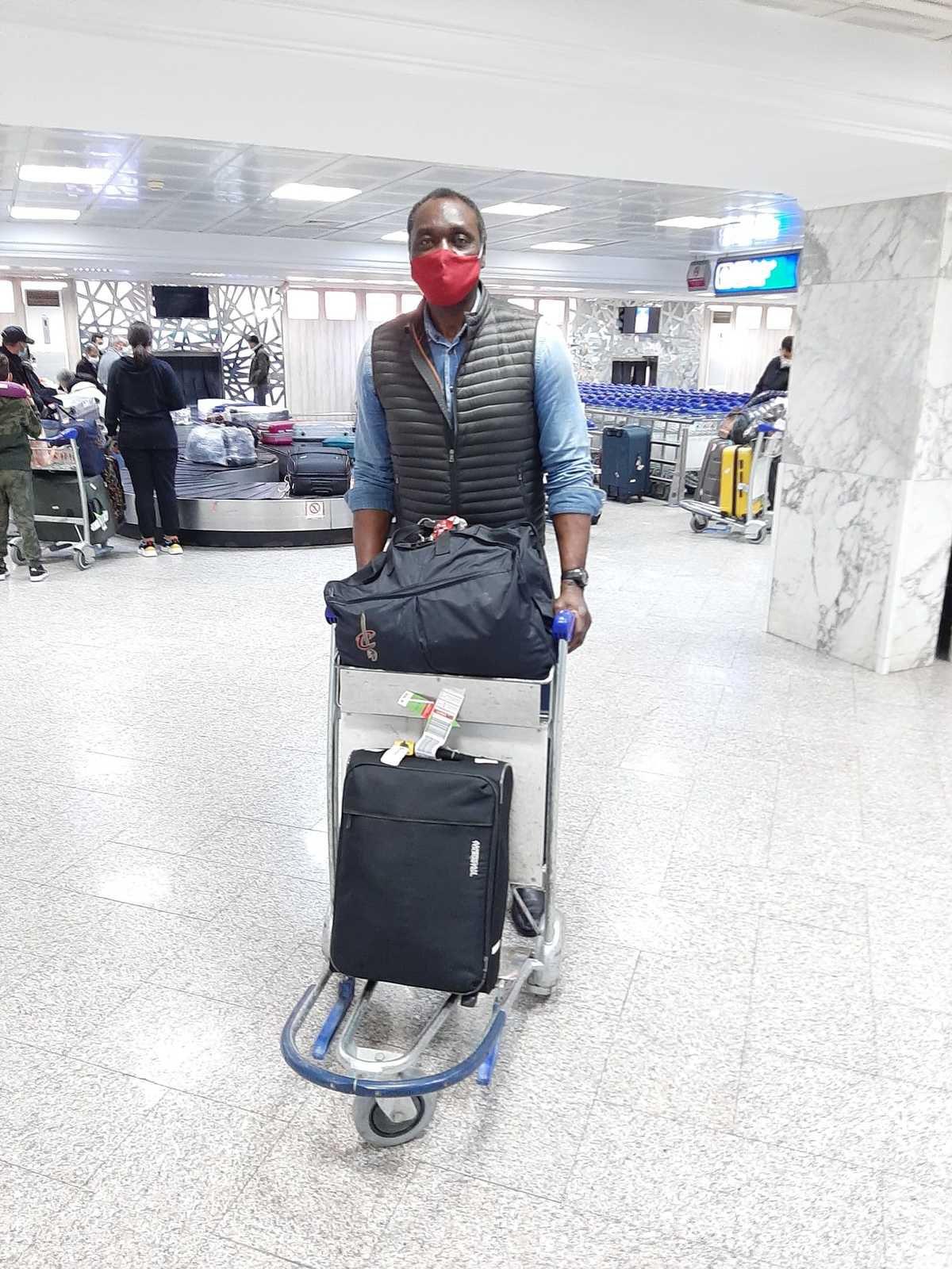 AfroBasket 2021 : Anicet Lavodrama a posé ses valises en Tunisie