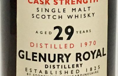 Glenury Royal 1970 - Rare Malts