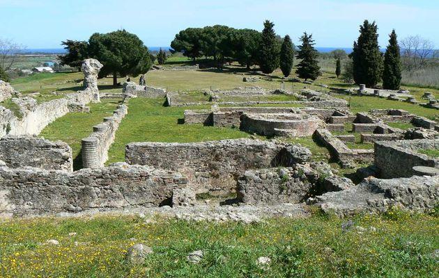 Le site d'Alalia / Aleria en Corse. Les étrusques. Civilisation romaine