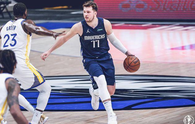 Luka Doncic prouve que « c'est plus facile de marquer en NBA qu'en Europe »