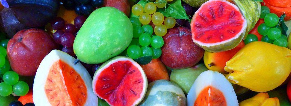 La couleur des fruits et légumes détermine les différents antioxydants.