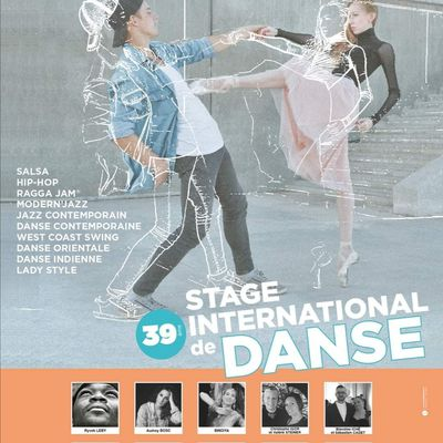 Stage International de danse de Pontarlier du 31 juillet au 6 Août 2021
