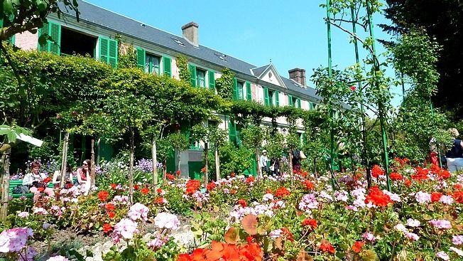 Le jardin d'eau et la maison de Claude Monet