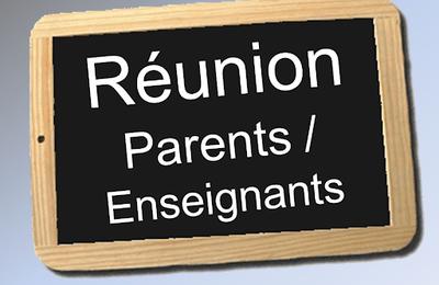 Réunions parents - enseignants