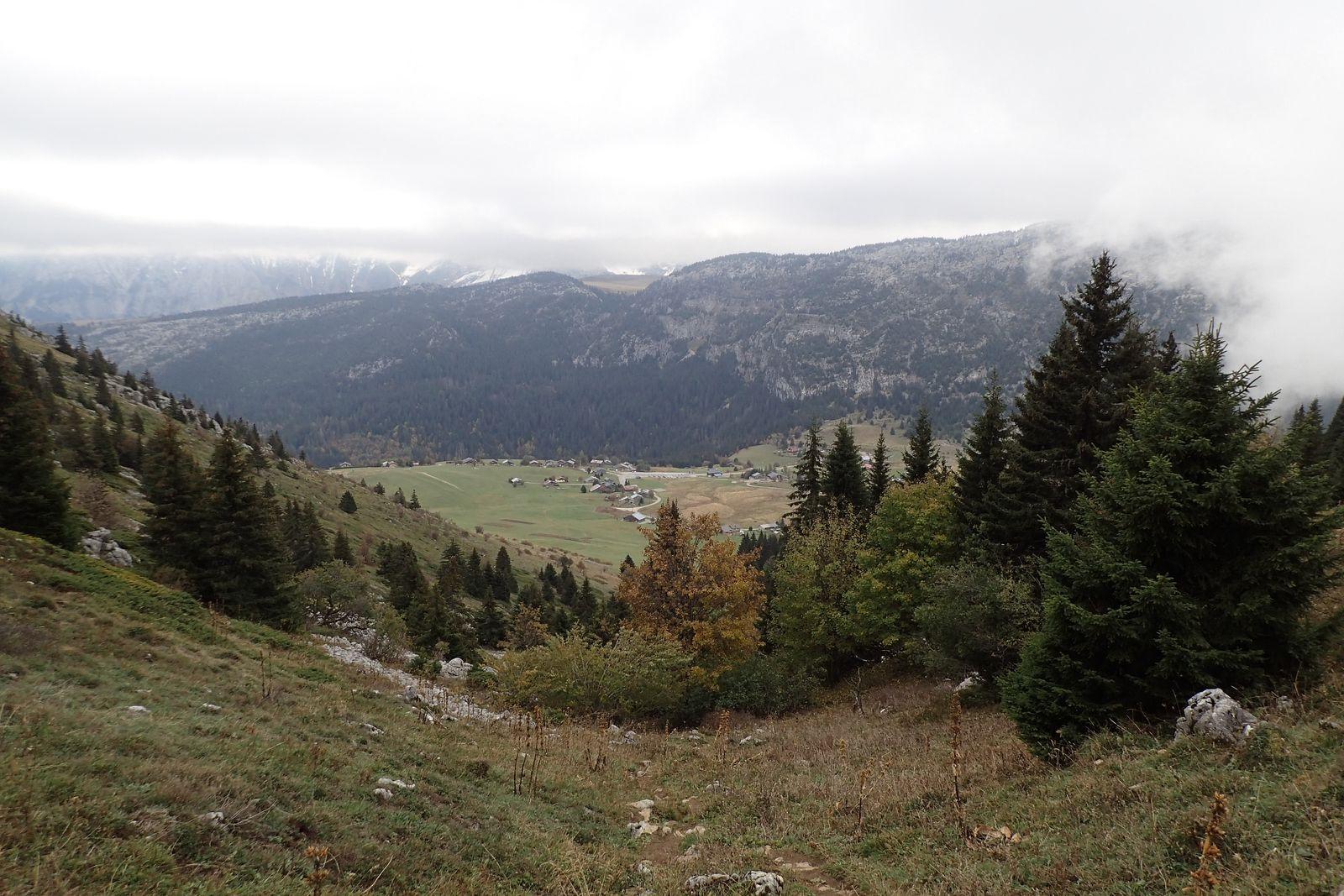 Pointe d'Andey: Depuis le Plateau de Solaison > Boucle Col d'Andey