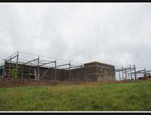 St Germain Lembron - Construction du Super U