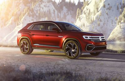 Volkswagen Atlas Cross Sport Concept au salon de New York !