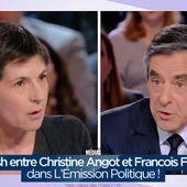 Clash entre Christine Angot et Francois Fillon dans L'Émission Politique ! #LEmissionPolitique - SANSURE.FR