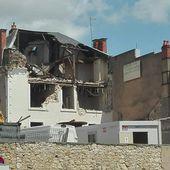 Îlot Rollinat : les premières démolitions ! - Vierzonitude
