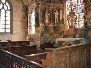 Chapelle de Bretagne : Saint Sébastien à Saint-Ségal (29)
