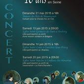 """Concert, Dimanehe 14 juin à Carrières-sous-Poissy - ASAEECC """"Votre vie à Carrières"""""""