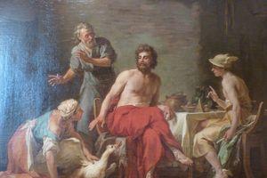 Ulysse s'adresse à Nausicaa par Thomas et Lilian